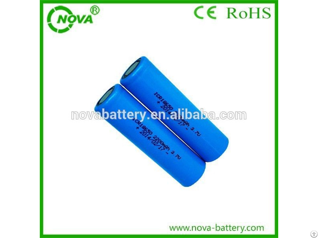 Samsung Rechargeable Li Ion Battery 18650 3 7v 2200mah