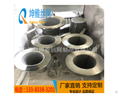 High Quality Stainless Steel Perforated Temporary Cone Strainer Filter
