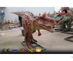 Medium Size Animatronic Dinosaure Simulation Outdoor Decoration Model