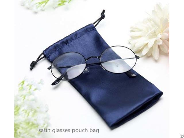 Satin Glasses Pouch Bag
