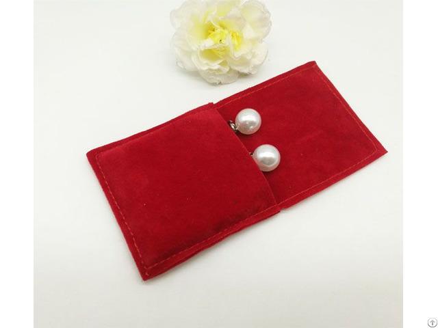 Mini Velvet Ring Pouch Earrings Jewelry Bag