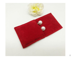 Mini Velvet Ring Pouch Earrings Jewelry Bag