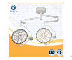 2018me Medical Room Double Dome Ceiling Type Operaiton Lamp 500 Surgical Light