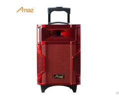 Al0839 Altavoz 4 5ah Bateria 30w 8 Pulgadas Con 1 Microfono