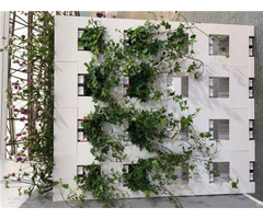 Grass Flower Pot Made For Blocks Block Wall Partition