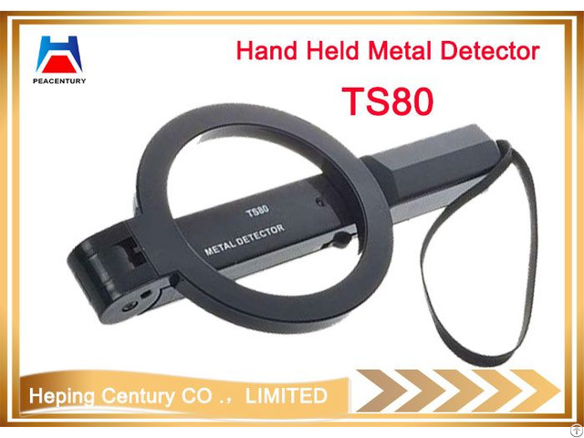 Detect Area Can Folding Hand Held Metal Detector For Security Checking