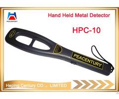 Small Hand Held Metal Detectors Police Scanner Used In Airport Wharf School