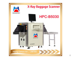 Tip Function Auto Operation Hpc B5030 Small Size Dual Energy Xray Baggage Scanner
