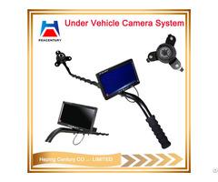 Portable Digital Visual Under Vehicle Checking Camera Uvss With Dvr