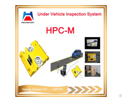 Under Vehicle Surveillance System With Anpr Camera In Border Checkpoints