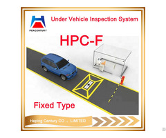 Professional Under Vehicle Scanner Security Inspection Checking With Camera System