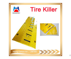 Tire Killer For Tyre Durable One Way Hump Road Spikes Speed Breaker