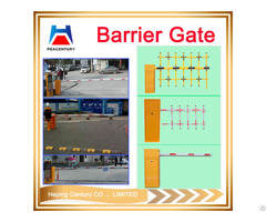 Security Arms Durable Galvanized Powder Coating Metal Barrier Gate