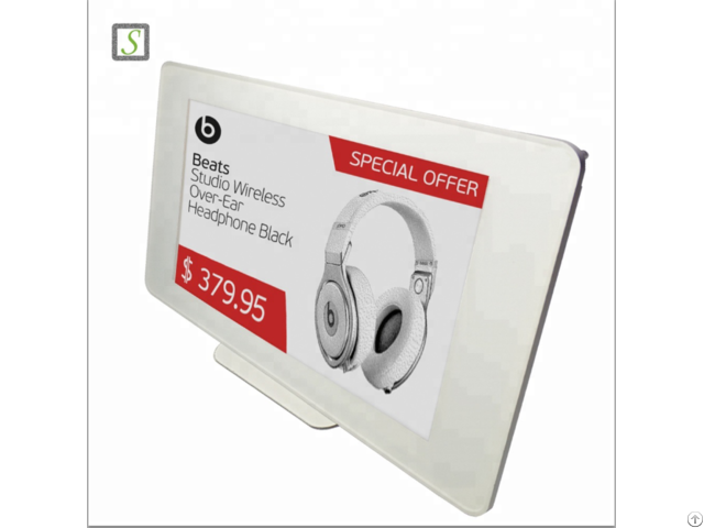 Supermarket E Paper Display Shelf Price Electronic Label Esl