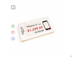 Supermarket Wireless E Ink Epaper Display Digital Electronic Esl Price Label