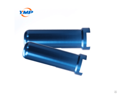 Specially Treated Blue Anodized Precision Aluminum Parts