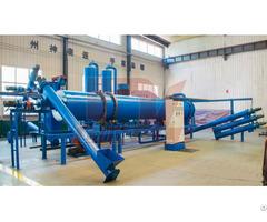 Continuous Coconut Shell Carbonization Production Line
