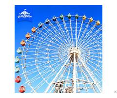 China Hot Sale Used Ferris Wheel Amusement Family Ride Led Light
