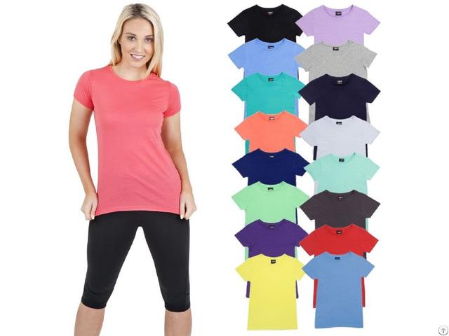 Women S Plain T Shirt