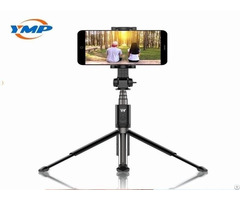 Tripod Selftimer Lever With Stabilizer Capable Of Rotating At Any Angle