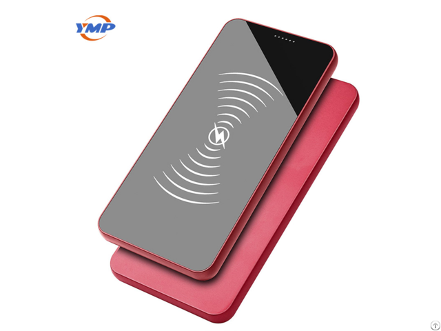 Ymp Ultra Thin Portable Fast Mobile Phone Wireless Charging Treasure