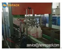 Finger Type Carton Packing Machine For Detergent Bottle Case Packer
