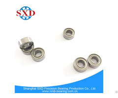 High Precision Low Noise Miniature Deep Groove Ball Bearing Mr105