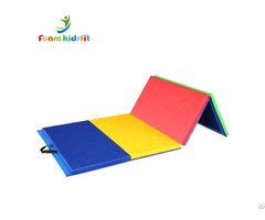 Four Folding Gymnastic Landing Mat For Fitness Body Building