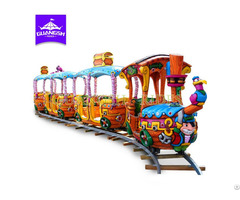 Pirate Track Train Outdoor Kids Rides