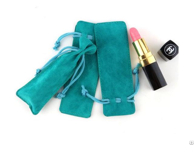 Lipsticks Velvet Sleeve Pouch