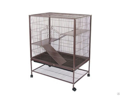 Double Metal Platforms And Ladders Rat Chinchilla Cage Pet House