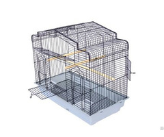Large Flight Pet Cage Bird Nest With Three Perches In Different Directions