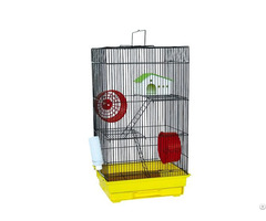 Large Wire Mesh Pet Hamster Active Cages With Plastic Base