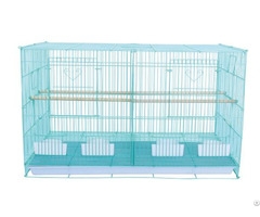 Pet Things Supplier Birds Play Steel Wire House With Divider Enough Flight Space