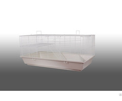 Economic Large Rabbit Cage Transport Hutch With Non Toxic Plastic Base
