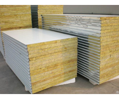 Metal Mineral Wool Sandwich Wall Panel