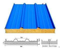 Rockwool Sandwich Roof Panel Roofing Sheet