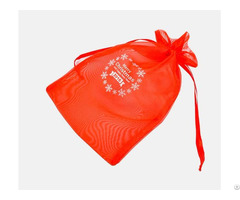 Organza Christmas Gift Bag