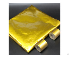 Adhesive Backed Heatshield Gold Thermal Reflective Tape