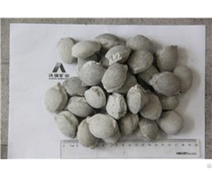 Standard Size 75% 80% Fluorspar Briquette Balls On Sale With Competitive Price For Steel Making