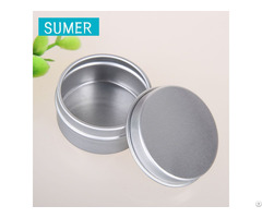 15g Aluminium Cans For Hand Cream Package