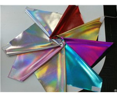 """Bh4165 Multi Color Shining Laser Film Synthetic Leather 1 0mm 54"""""""