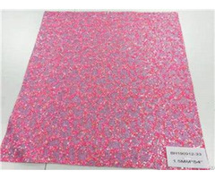 Bh190912 33 Pink Color Glitter Leather 1 5mm 54""