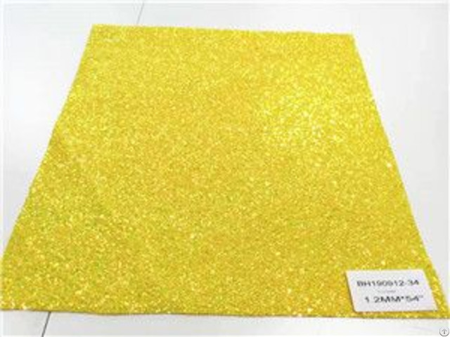 Bh190912 34 Yellow Color Glitter Leather 1 2mm 54