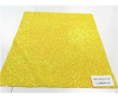 Bh190912 34 Yellow Color Glitter Leather 1 2mm 54""