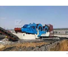 Modular Wash Plant For Riversand Sea Sand Silica