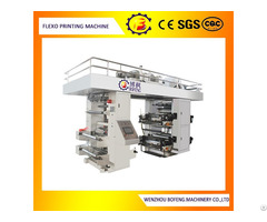 Four Color Stack Type Flexo Printing Machine