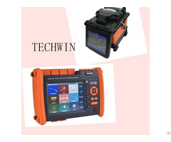 Fusion Splicer And Otdr Of Techwin For Optic Fiber Cable Project