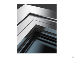 45mm Thickness Partition Aluminum Alloy Frame Combination Window For Cleanroom System Project