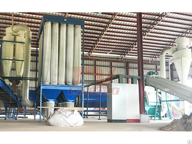 Elephant Grass Drying Production Line